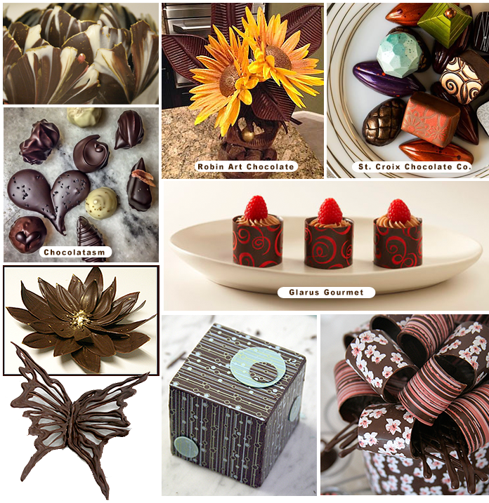 chocolate decorations and confections gallery - Chocolate Decorations